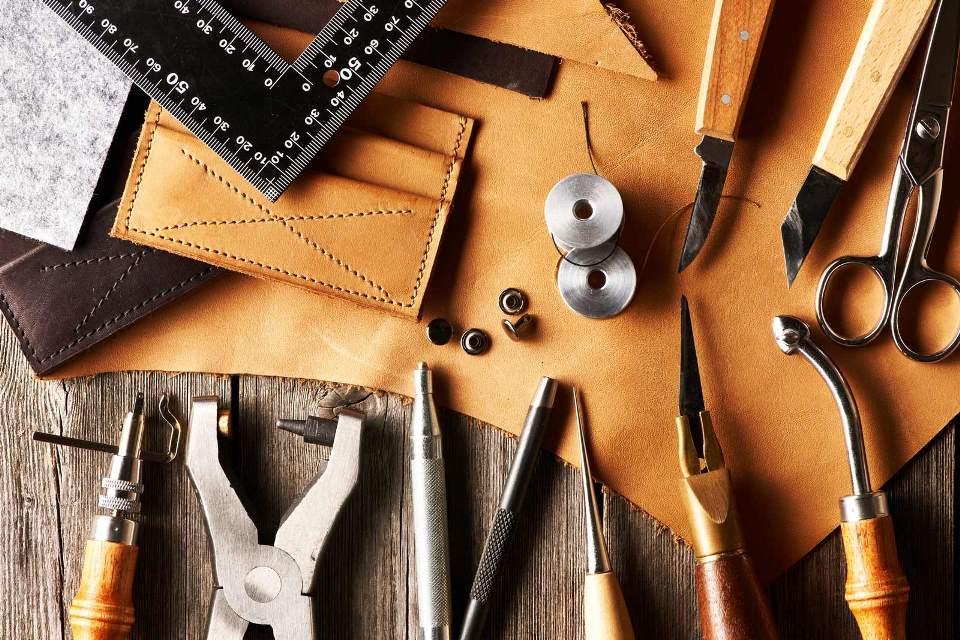 Натуральная кожа для галантереи, реставрации мебели, пошива обуви