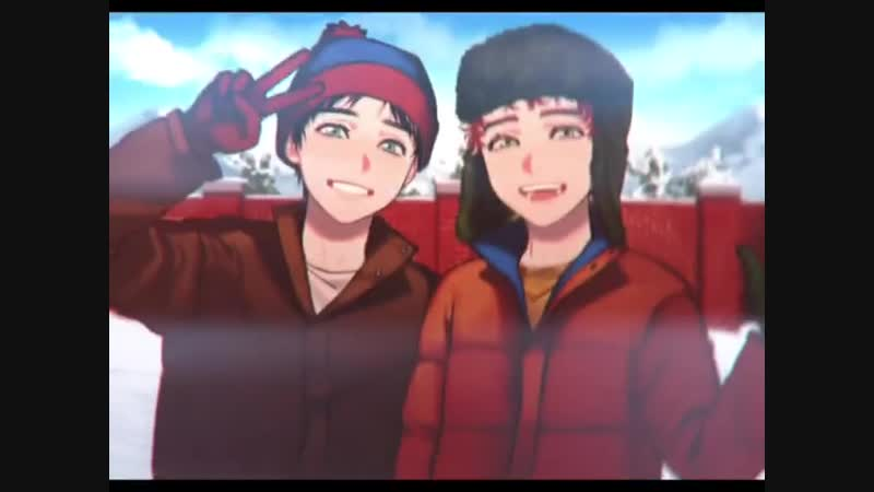 Super best (boy)friends 💘 style / stan marsh x kyle broflovski south park