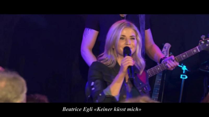 Beatrice Egli «Keiner küsst mich» StudioHire Festival 2018 LIVE