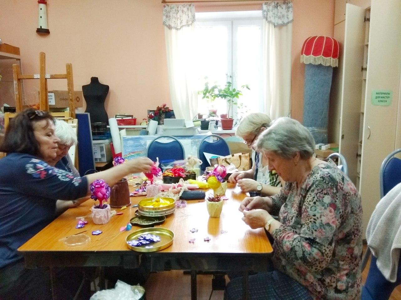 """""""Московское долголетие"""" в клубе """"Сфера"""""""