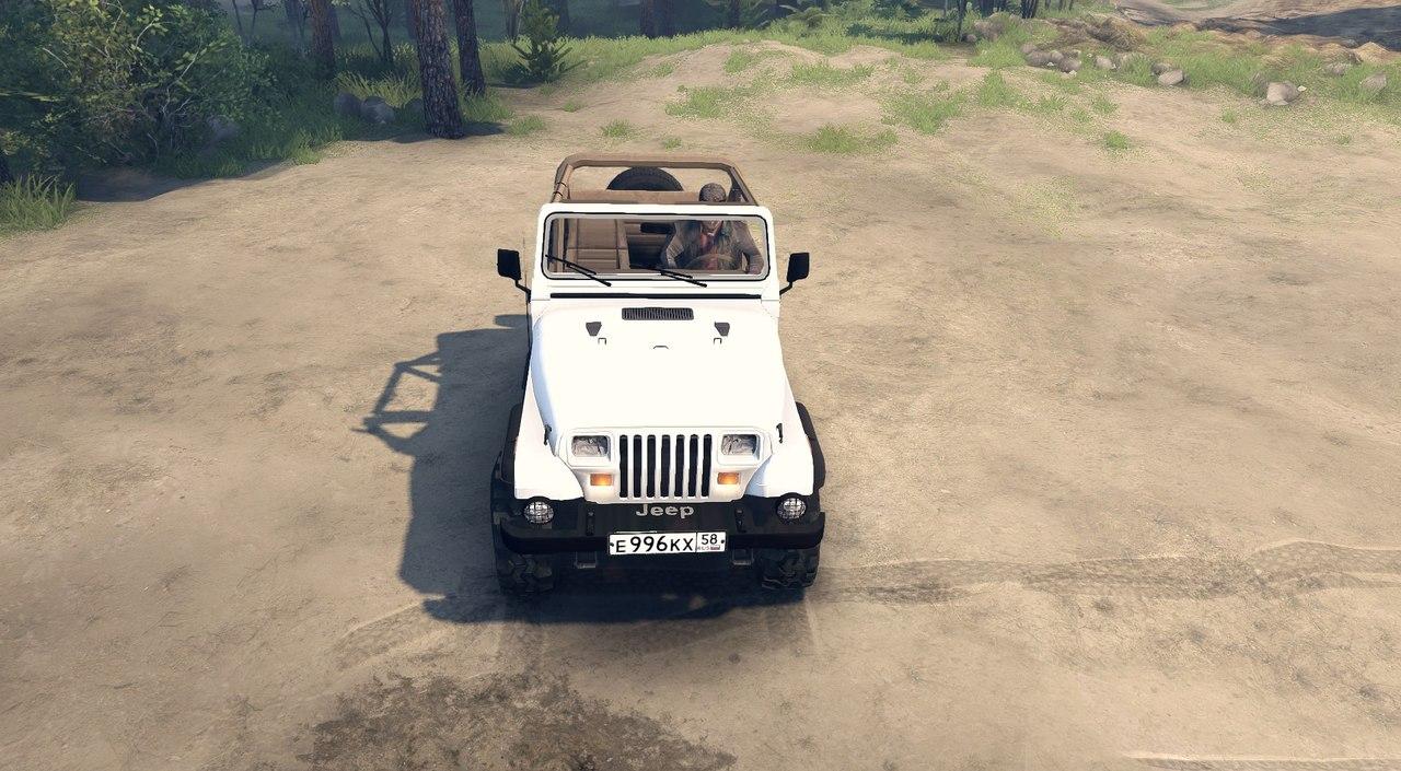 Jeep Wrangler для Spintires - Скриншот 3