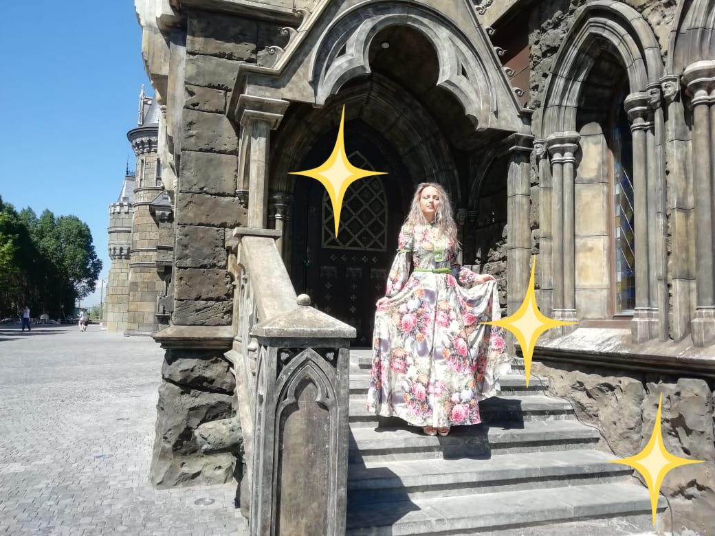 Длинное романтическое платье - сделает из вас Принцессу!