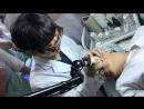 Сегодня была на съемках, врач из Кореи проводил мастер класс по косметологическим процедурам. Уникальные технологии, супер обору