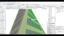 Tutorial ARCHICAD 22 How To Make Architectural Twisted Tower DUBAI Shell Tool