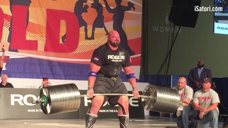 2017 ASC Brian Shaw Deadlift
