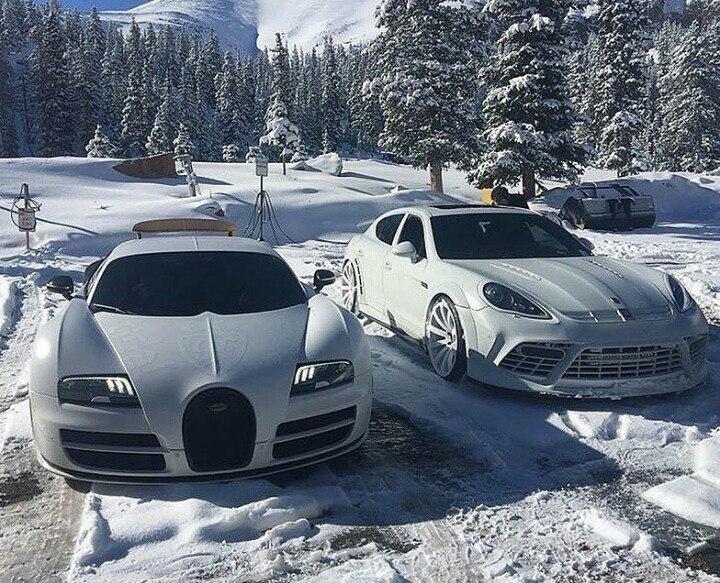 белые авто