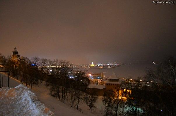 Там где Волга встречается с Окой