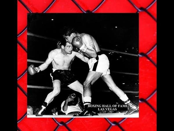 Jose Becerra KOs Alphonse Halimi July 8, 1959 Wins Bantamweight Crown