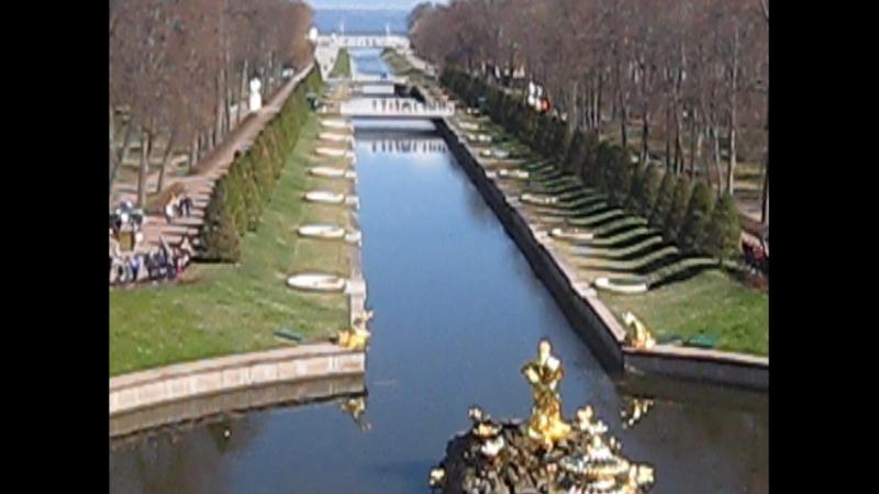 Санкт Петербург открытие сезона фонтанов