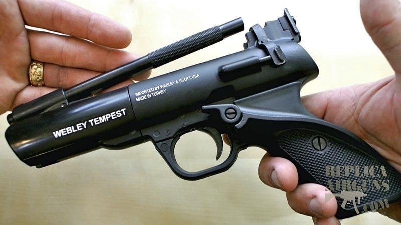 Webley Tempest Pellet Pistol Table Top Shooting Review