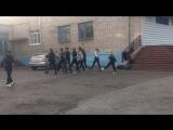 Кадеты НКЛ готовят ребят из ГСХА к строевому зачету