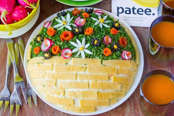рецепты салатов красивые и вкусные с фото