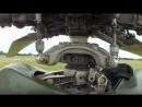 Работа автомата перекоса Ми-24 от наземной гидроустановки