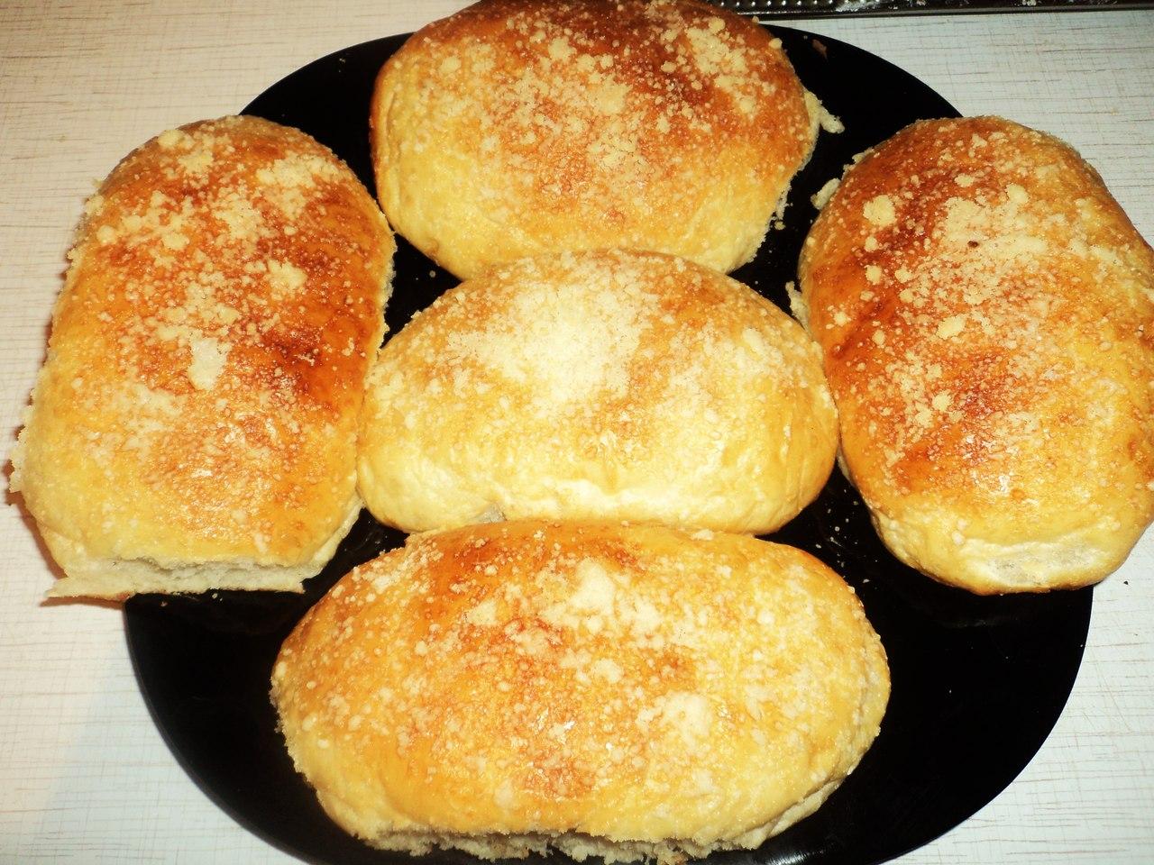 Сдобные мягкие булочки рецепт с фото