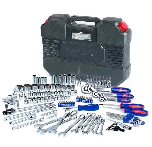 Большой набор инструментов на 123 предмета в гараж