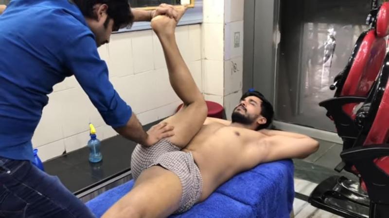ASMR Deep Tissue Full Body Massage By Mohammed Javed (Shantanu) Part-1