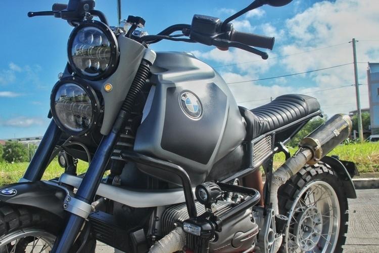 Iron Macchina Customs: скрэмблер BMW R1150GS