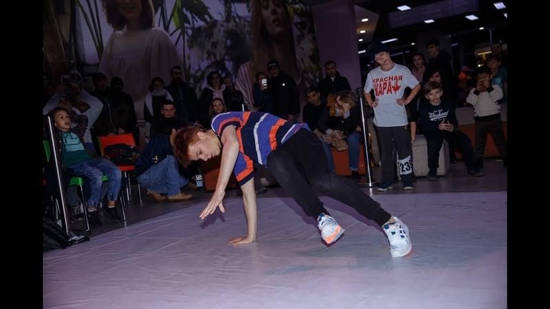 ELAINZ BATTLE    BREAK DANCE TEENS Bboy Dan Fox VS Bboy Monster (WIN)