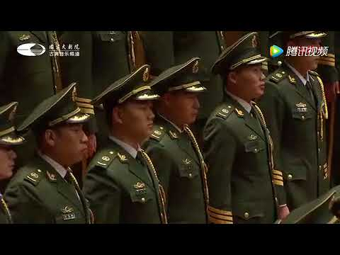 """震撼!中国武警男声合唱团演绎 诗经""""作品《无衣》,不可不听!"""