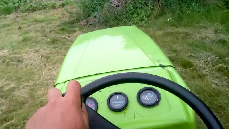 Валкуєм сіно мототрактором