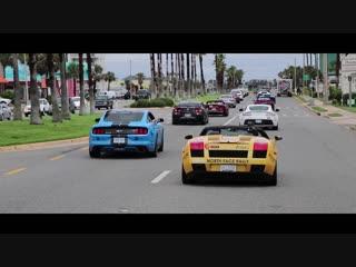 Спортивные машины в Майами. Supercar Rally From Toronto - Miami