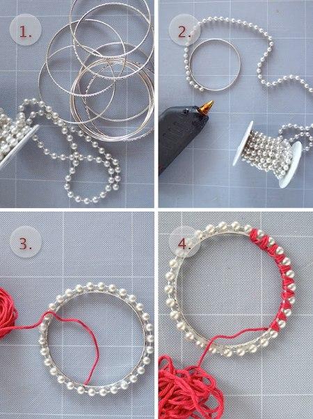 Из чего можно сделать браслеты своими руками