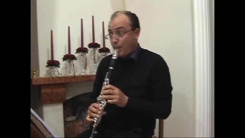 Le Api for Clarinet(A.Pasculli).Prof.Massimiliano Montanaro.