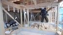 K様邸 新築工事 / 窓枠下地-構造用合板を直接打ち耐力壁の施工 2016.03.10