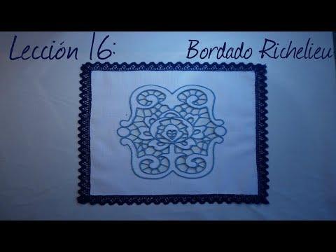 Lección 16 bordado richelieu смотреть онлайн без регистрации