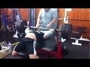 Jevgenijs Artemjevs 260 KG Bench Press with Metal Catapult