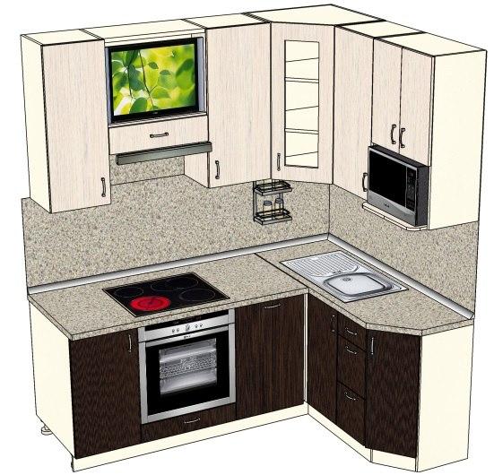 Кухня в корабле фото