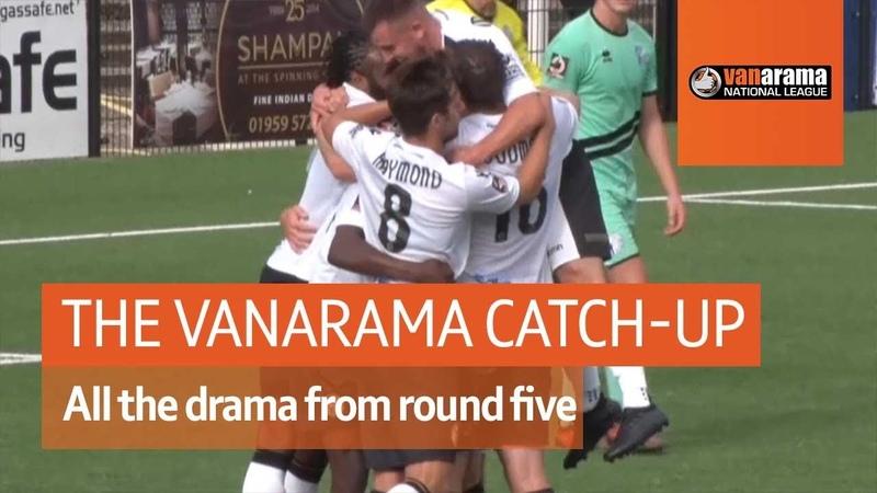 Wrexham hit top spot The Vanarama National League Highlights Show
