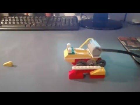 Lego WeDo Sapo / Rana mejorado (Montaje) (Toad/Frog Lego WeDo)