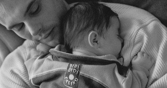 Настоящее счастье - это когда в твоей жизни есть большой и маленький мальчик...