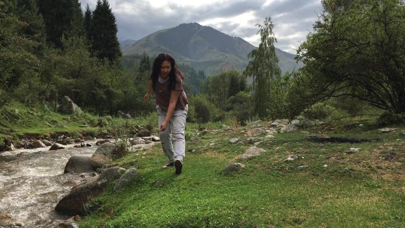 Импровизация в горах Алматы
