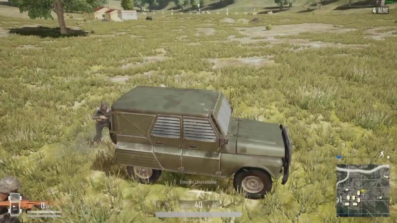 Новенький бронированный УАЗик