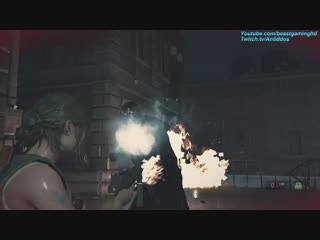 Resident Evil 2 Remake - Mr. X and.. ugh.. Mr. X -- S+ Hardcore Difficulty Speedrun Gone Wrong