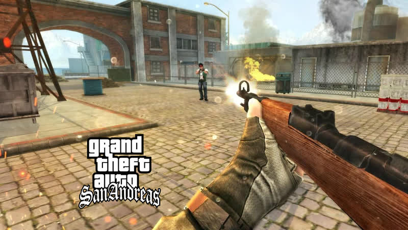 GTA DYOM Counter Strike 8 миссий