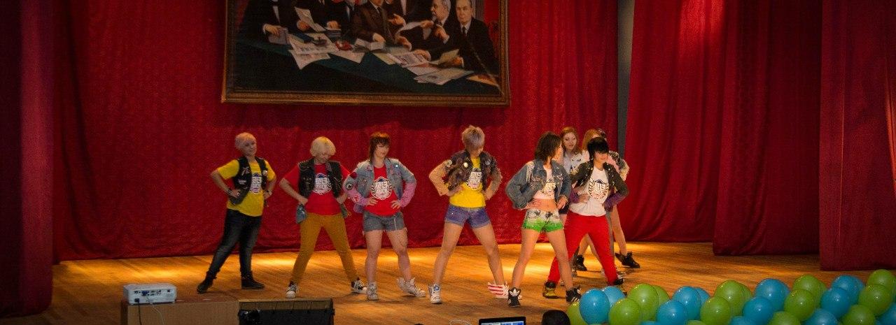 Танец группы SkyLand с близнецами Алиной и Дианой