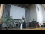 Мария Магина - И. Брамс (нем.композитор ХIХ в.) -