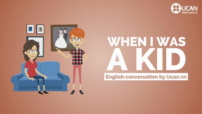 Learn English Conversation Lesson 22. When I was a kid