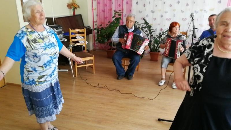 В гостях у ОДП Меридиан ансамбль Гармонистов из Культурно -творческого центра Серпуховского района.