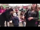 Видео с акции на Лубянке в защиту Telegram