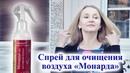 Спрей для очищения воздуха Монарда Veira-Souz
