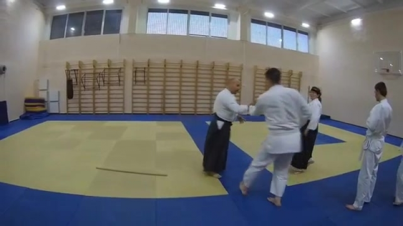 Aikido practice daily (25.06.2018) Omote irimi