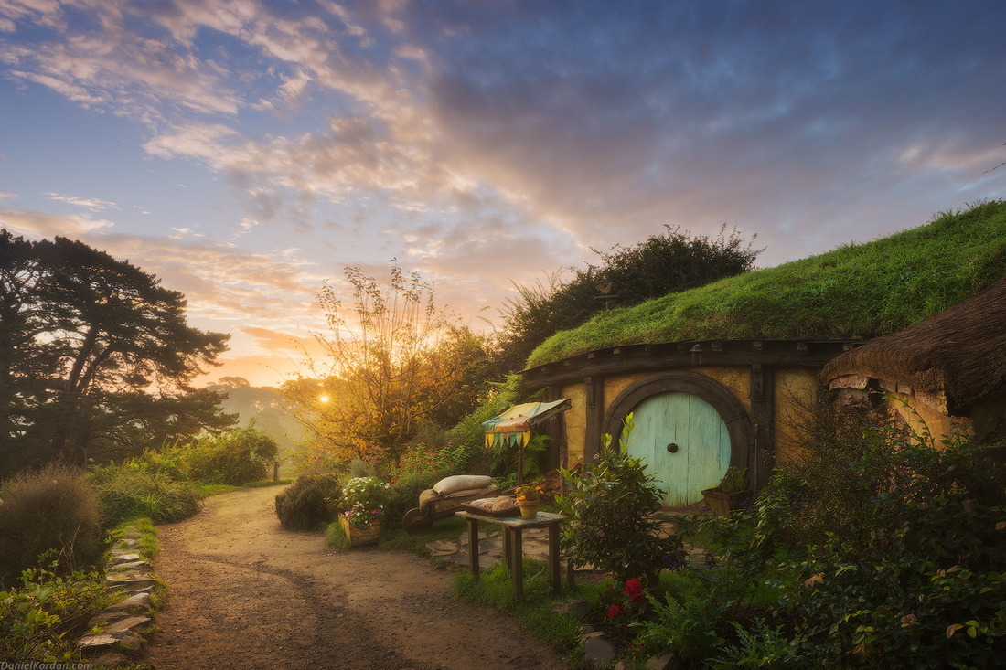 Деревня хоббитов в Новой Зеландии — настоящая сказка