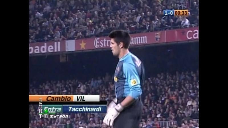 Чемпионат испании 2006/2007, 12-й тур, Барселона - Вильярреал, нтв