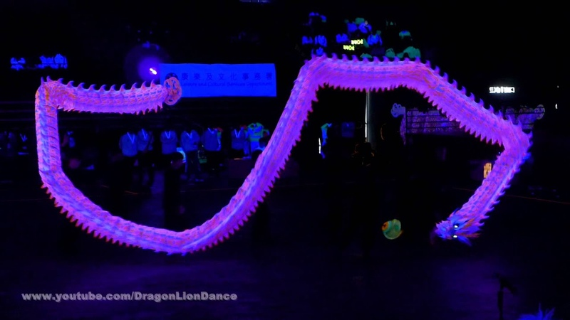 鱷魚恤世界香港夜光龍錦標賽2016 - 馬來西亞耶耶亞哇洪仙大帝廟舞龍隊 - 1 st Place 9.