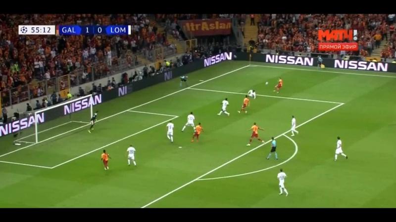 Галатасарай - Локомотив 3-0 Обзор матча Лига Чемпионов 18 09 18