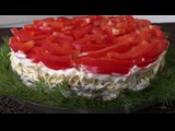 Новогодний Салат Елочная Игрушка_ Ball Christmas Ornament Salad _ Ольга Матвей